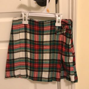 NWT girls plaid skirt from Carters